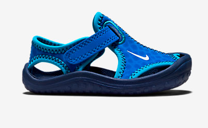 Blue Nike Kids Sandal